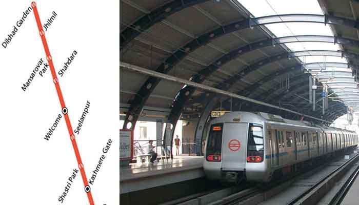 नाकाम हुई साजिशः दिल्ली मेट्रो में पकड़े गए जिंदा कारतूस