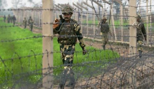 अंतरराष्ट्रीय सीमा पर भारत और पाक जवानों के बीच फिर गोलीबारी