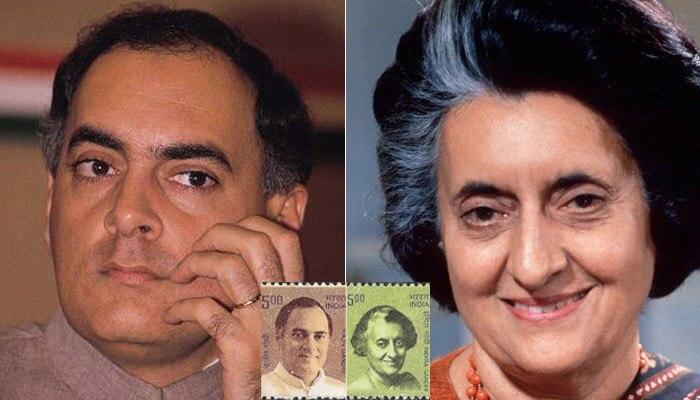 इंदिरा-राजीव डाक टिकट विवाद: सरकार ने कहा- एक ही परिवार को सभी सम्मान नहीं