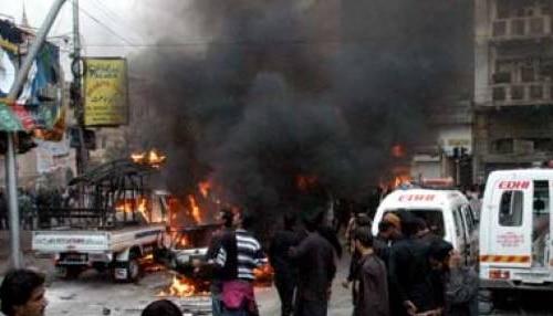 पाकिस्तान में शिया मुसलमानों के जुलूस में आत्मघाती धमाका, 22 की मौत