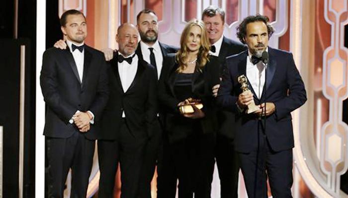 गोल्डन ग्लोब पुरस्कार 2016: 'द रेवेनैंट' ने लगाई हैट्रिक, डिकेप्रियो सर्वश्रेष्ठ अभिनेता