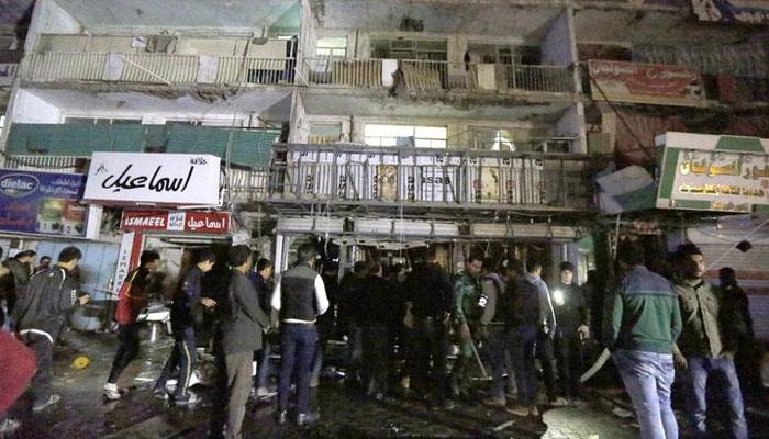 इराक: बगदाद के मॉल में आत्मघाती हमले में 18 की मौत, IS ने ली जिम्मेदारी