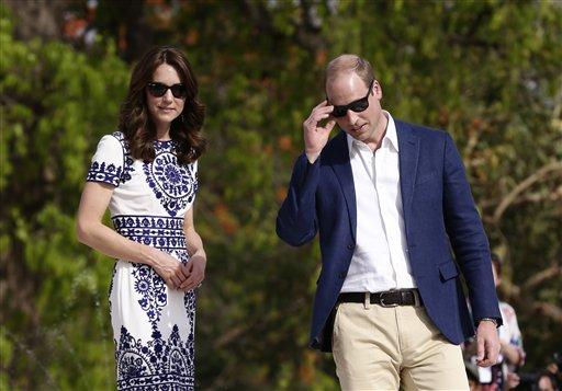 ब्रिटेन के शाही जोड़े प्रिंस विलियम और उनकी पत्नी केट मिडलटन ने 16 अप्रैल को ताज महल का दीदार किया।