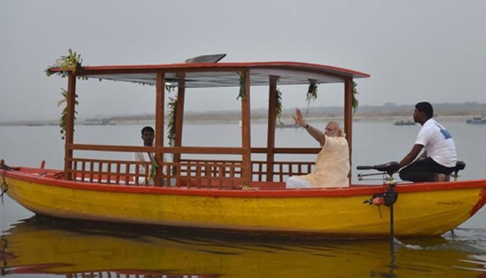 मोदी ने ई-नौका की शुरुआत कर निषादों से संपर्क साधा