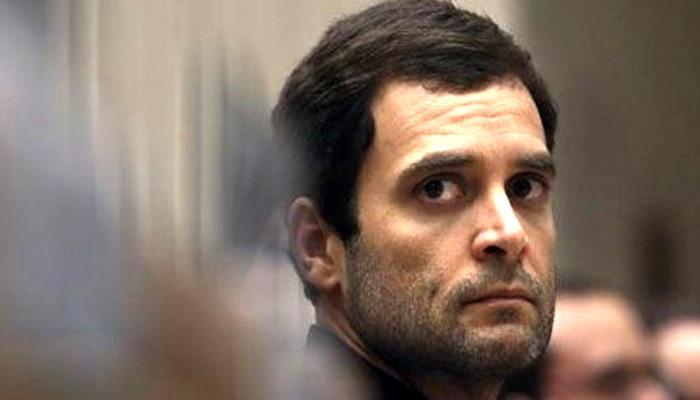 कांग्रेस उपाध्यक्ष राहुल गांधी ने स्वीकारी हार