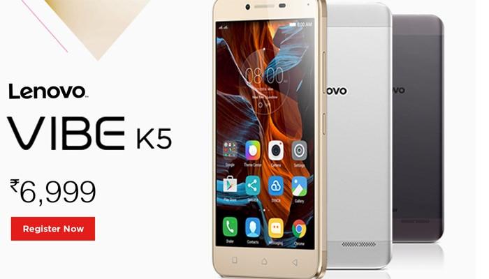 Lenovo ने लॉन्च किया 6999 रुपये में 5 इंच स्क्रीन वाला स्मार्टफोन