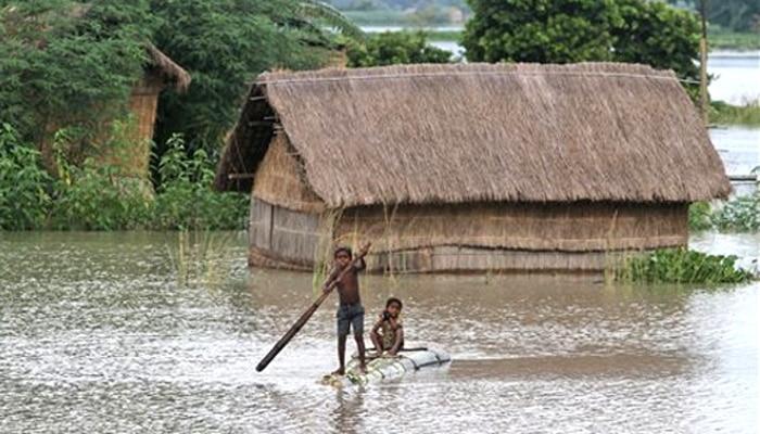 बिहार में बाढ से अब तक 91 की मौत, 33 लाख आबादी प्रभावित