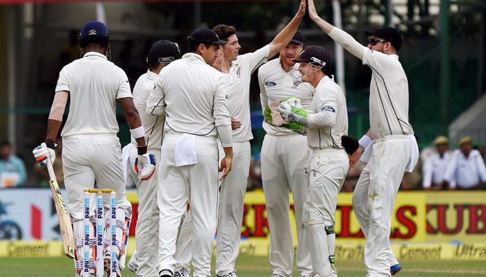कानपुर टेस्ट में दूसरे दिन का खेल खत्म, न्यूजीलैंड की शानदार शुरुआत, बारिश में धुला तीसरा सत्र