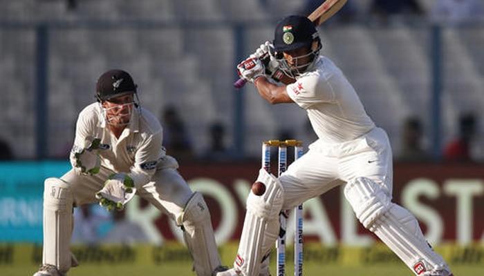 भारत-न्यूजीलैंड दूसरा टेस्ट: दूसरे दिन न्यूजीलैंड के स्टंप तक सात विकेट पर 128 रन