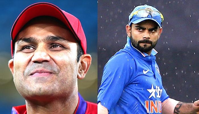 विराट की टीम के पास विदेशों के टेस्ट जीतने वाला गेंदबाजी आक्रमण: सहवाग