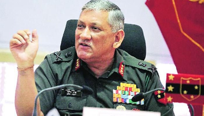 दो-मोर्चों पर युद्ध के लिए तैयार लेकिन शांति चाहते हैं : सेना प्रमुख