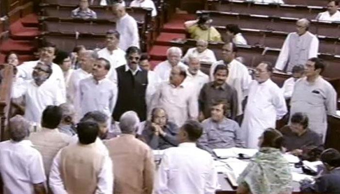 राज्यसभा में EVM मुद्दे पर जबरदस्त हंगामा, BJP ने कहा- विपक्ष को हार मान लेनी चाहिए