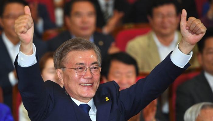 अमन के लिए उत्तर कोरिया जा सकते हैं दक्षिण कोरिया के नए राष्ट्रपति