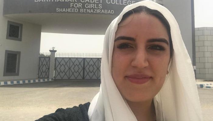 बेनजीर भुट्टो की बेटी बख्तावर ने पाकिस्तान के कानून को बताया 'पाखंड'