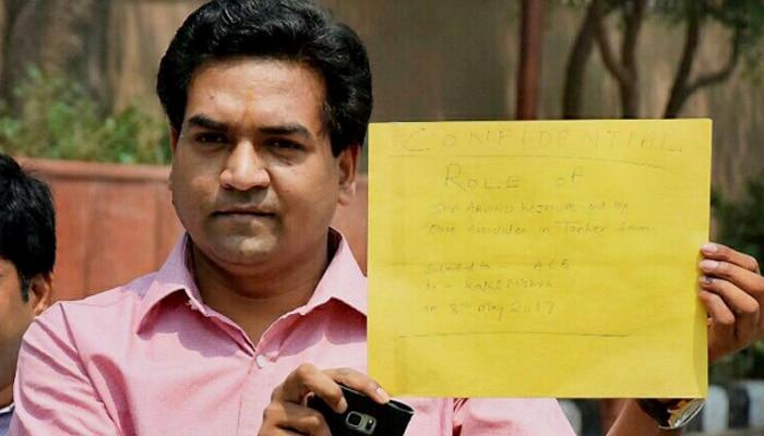टैंकर घोटाला: मंगलवार को पूछताछ के लिए एसीबी के सामने पेश होंगे कपिल मिश्रा