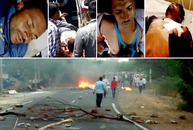 एमपीः मंदसौर में हिंसक हुआ किसान आंदोलन, फायरिंग में 5 की मौत, लगा कर्फ्यू