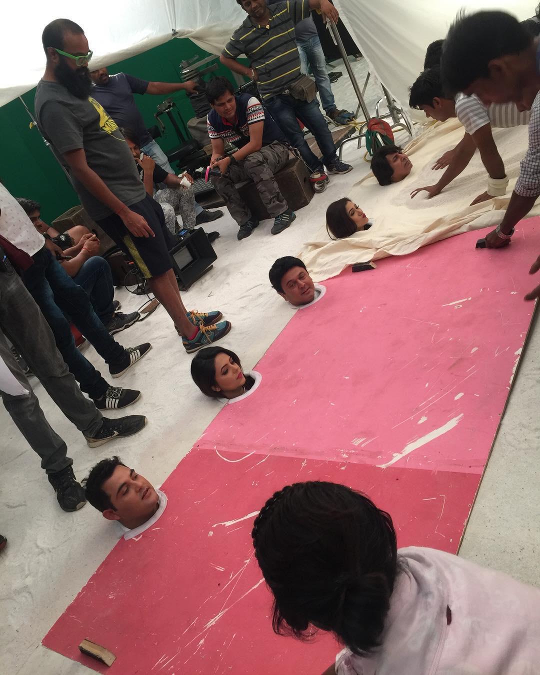 Sugandha Mishra started shooting