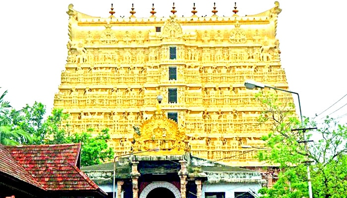 Image result for श्री पद्मनाभस्वामी मंदिर