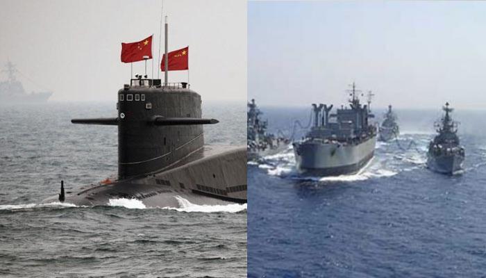 हिंद महासागर में ऐसे पकड़ी गई चीनी नौसेना की चालाकी, ड्रैगन की हरकतों पर 'रुक्मिणी' की पैनी नजर