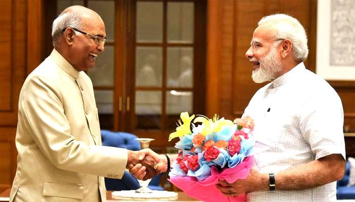 देश के 14वें राष्ट्रपति बने रामनाथ कोविंद, कानपुर से रायसीना हिल का सफर है बेहद खास!