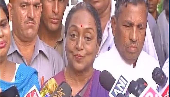राष्ट्रपति चुनाव: हार के बाद मीरा कुमार ने कहा, 'मेरी लड़ाई सेकुलरिज्म, दलितों पिछड़ों के लिए है जो हमेशा जारी रहेगी'
