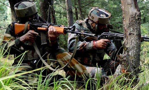 कश्मीर में अलकायदा से जुड़े जाकिर मूसा समूह के 3 आतंकी ढेर