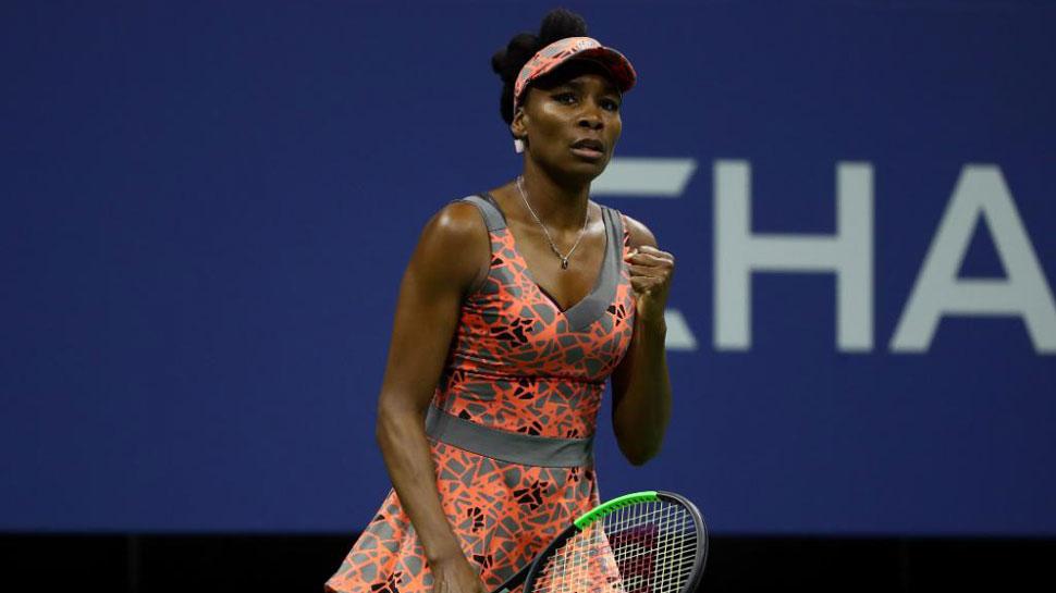 US Open: तीसरे दौर में पहुंचीं वीनस विलियम्स, गार्बिने मुगुरुजा भी अगले राउंड में