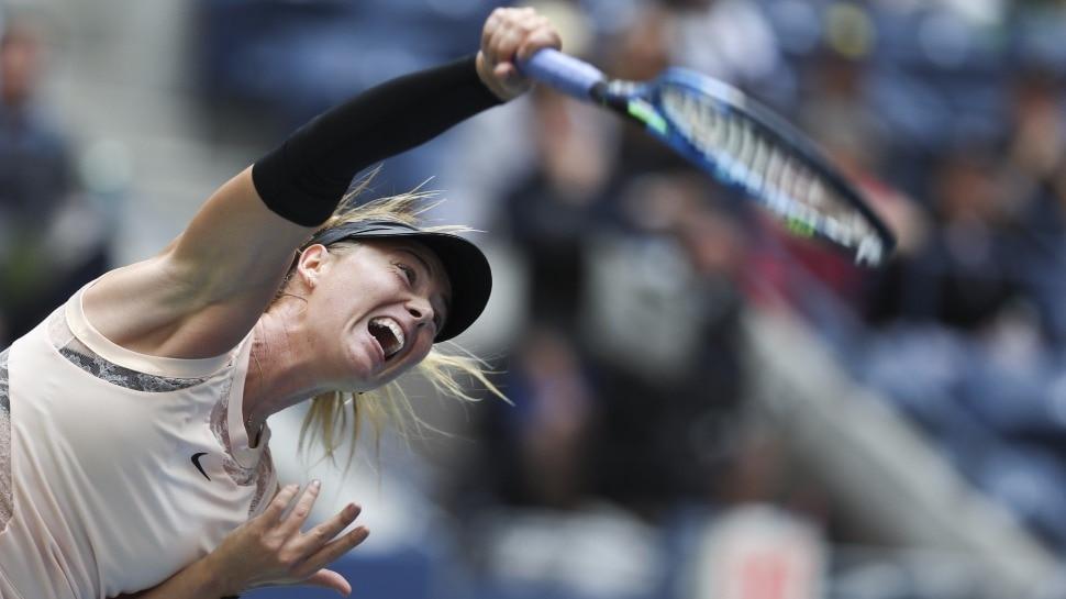 अमेरिका ओपन के प्री-क्वार्टर फाइनल में हारकर बाहर हुई मारिया शारापोवा