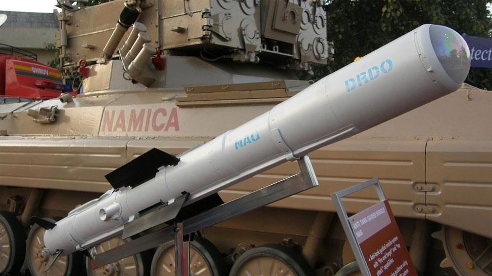 एंटी टैंक मिसाइल 'नाग' का डीओरडीओ ने किया सफल परीक्षण, 7 किमी की मारक क्षमता
