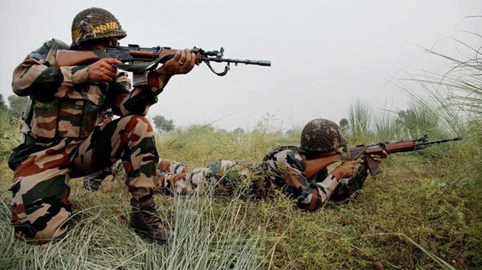 जम्मू-कश्मीरः दो जगह आतंकी घुसपैठ की कोशिश नाकाम, 3 आंतकी ढेर