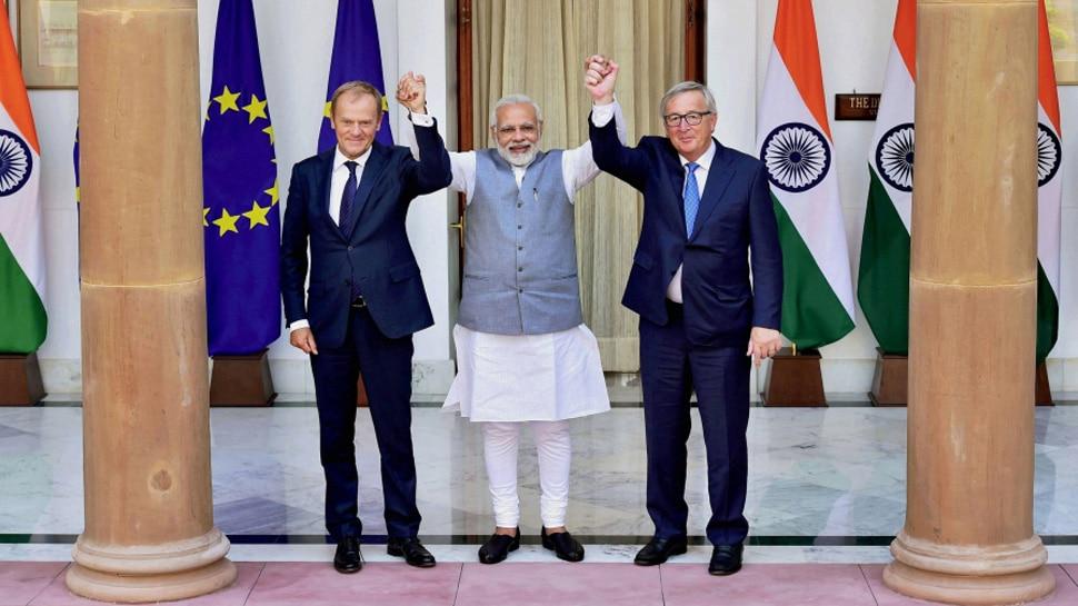 आतंकवाद से मिलकर लड़ेंगे भारत-यूरोप, 'मुक्त व्यापार' बातचीत पर जताई सहमति