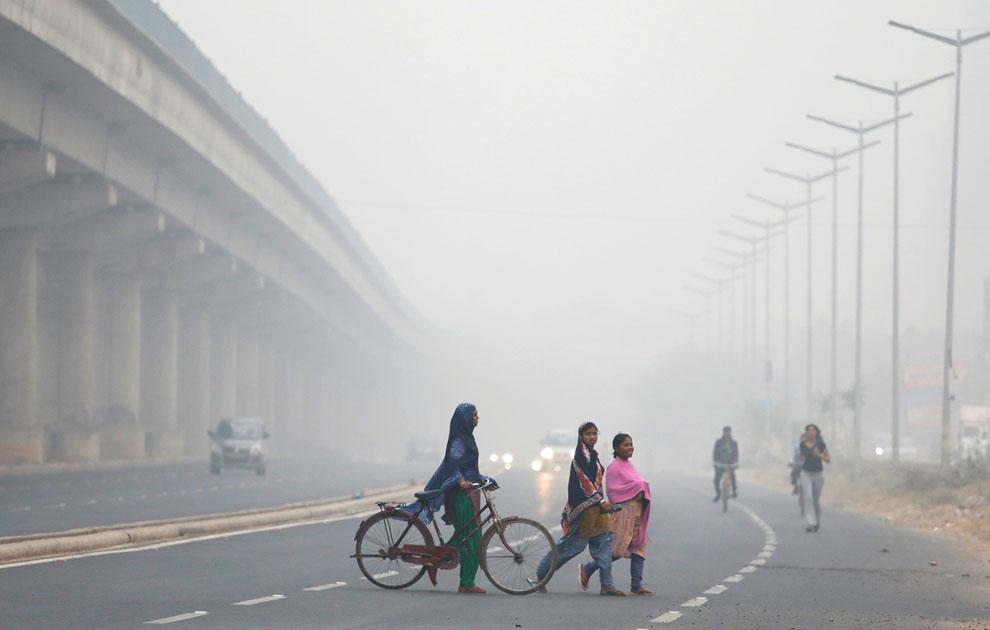 बह रही है जानलेवा हवा, NHRC ने केंद्र समेत दिल्ली, पंजाब, हरियाणा सरकार को भेजे नोटिस