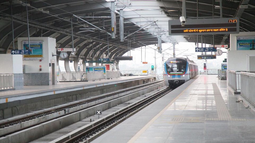 Hyderabad Metro Rail PIC