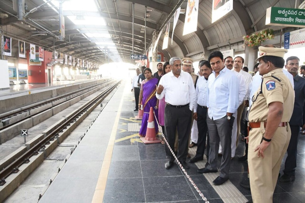 Ameerpet Biggest Metro Station in India, 6 Points of Hyderabad Metro