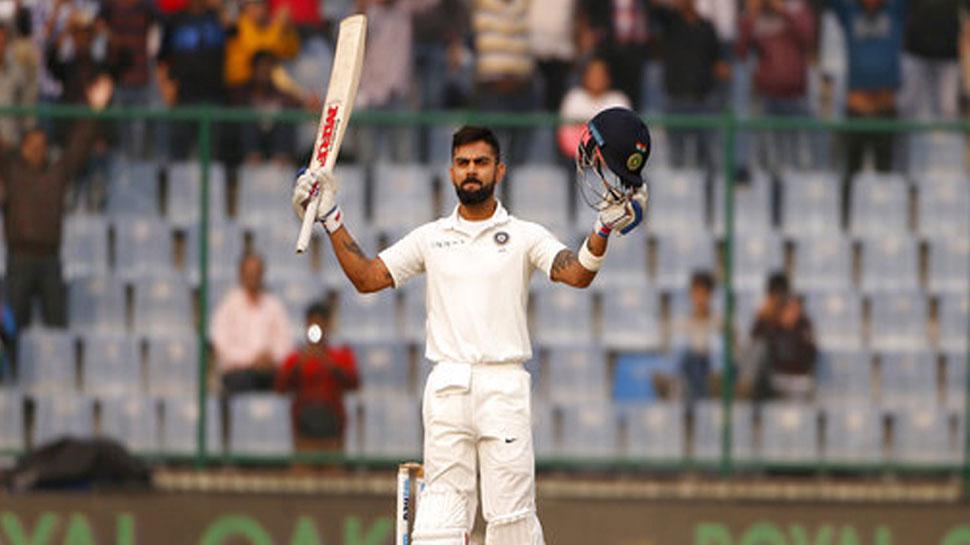 कप्तान कोहली की 'विराट' छलांग, टेस्ट रैकिंग में हासिल किया दूसरा स्थान