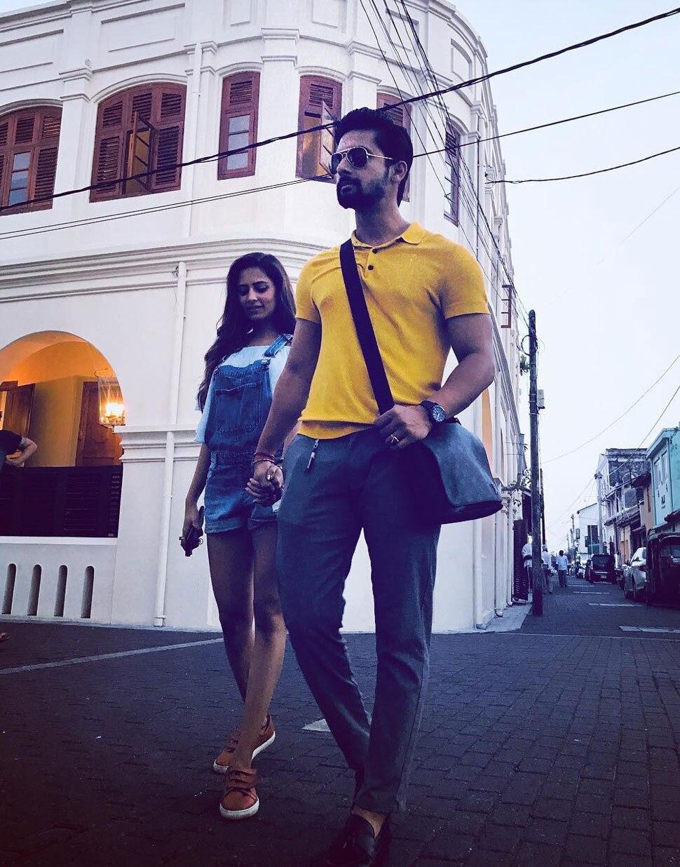 Bigg Boss's Ex Contestent Kishwar Merchant with Husband Suyyash Rai in Sri Lanka