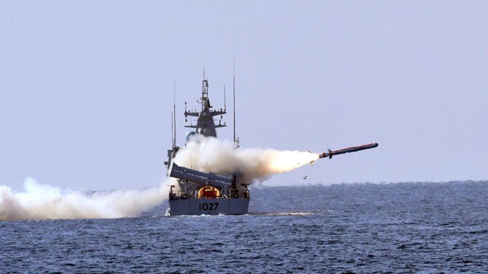 पाकिस्तानी नौसेना ने किया क्रूज मिसाइल 'हर्बा' का सफल टेस्ट, सटीक तरीके से भेदा निशाना