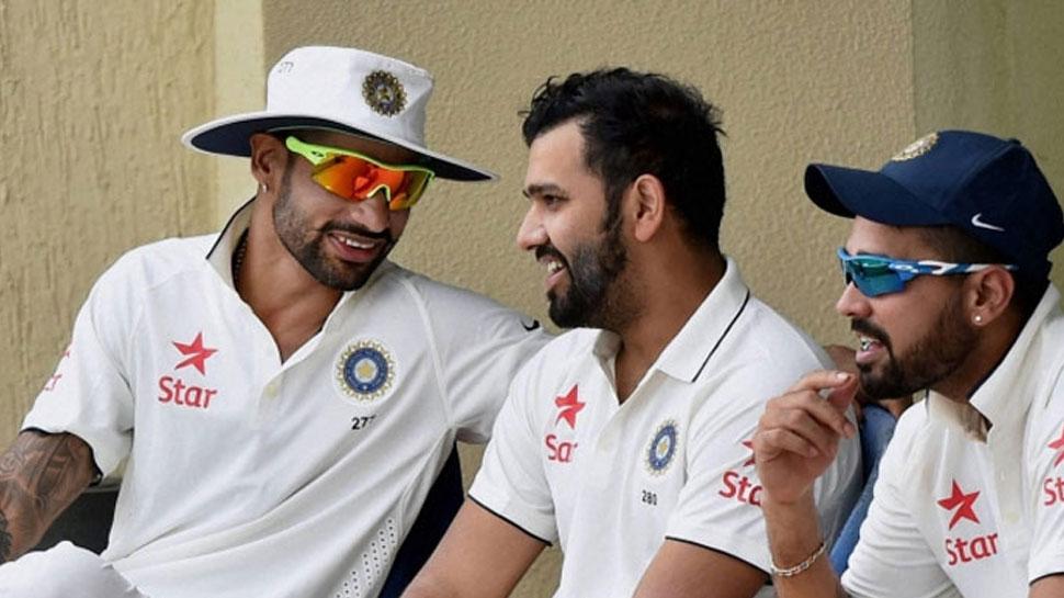 shikhar, rohit and Murli