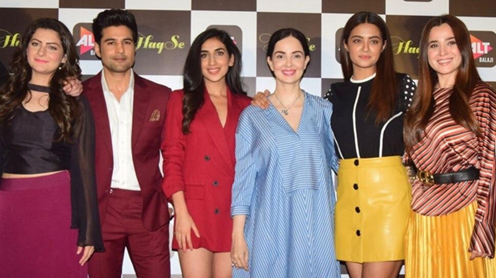 Rajeev Khandelwal, Surveen Chawla starrer Haq Se trailer launch event