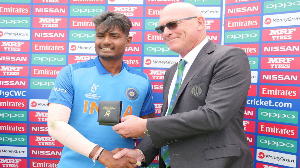 Anukul Roy was the man of the match