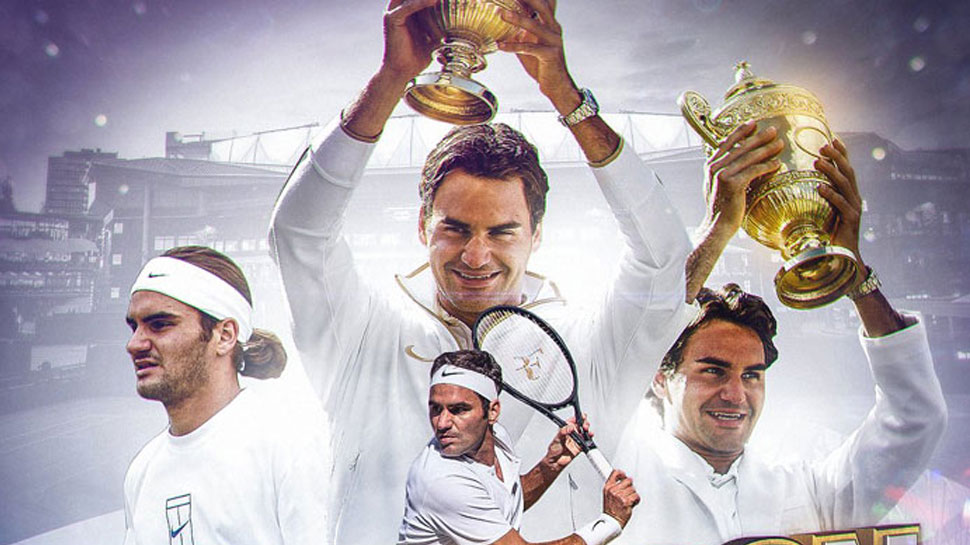 Wimbledon Champion Roger federer