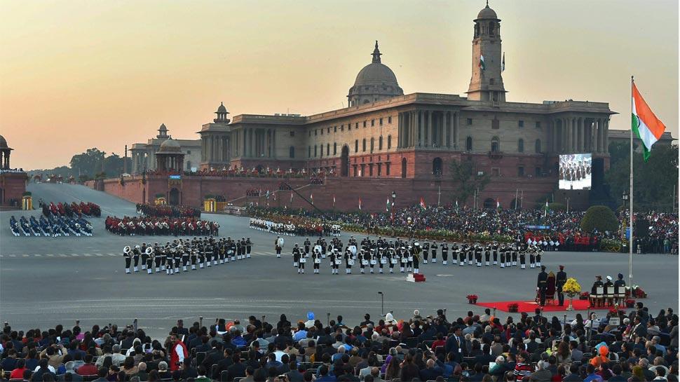 Beating Retreat, Beating The Retreat, Republic Day, Vijay Chowk, Indian Army, Beating Retreat Ceremony, Rashtrapati Bhavan, Rajpath