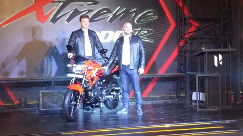 hero motocorp launch xtreme 200r in india price and specification
