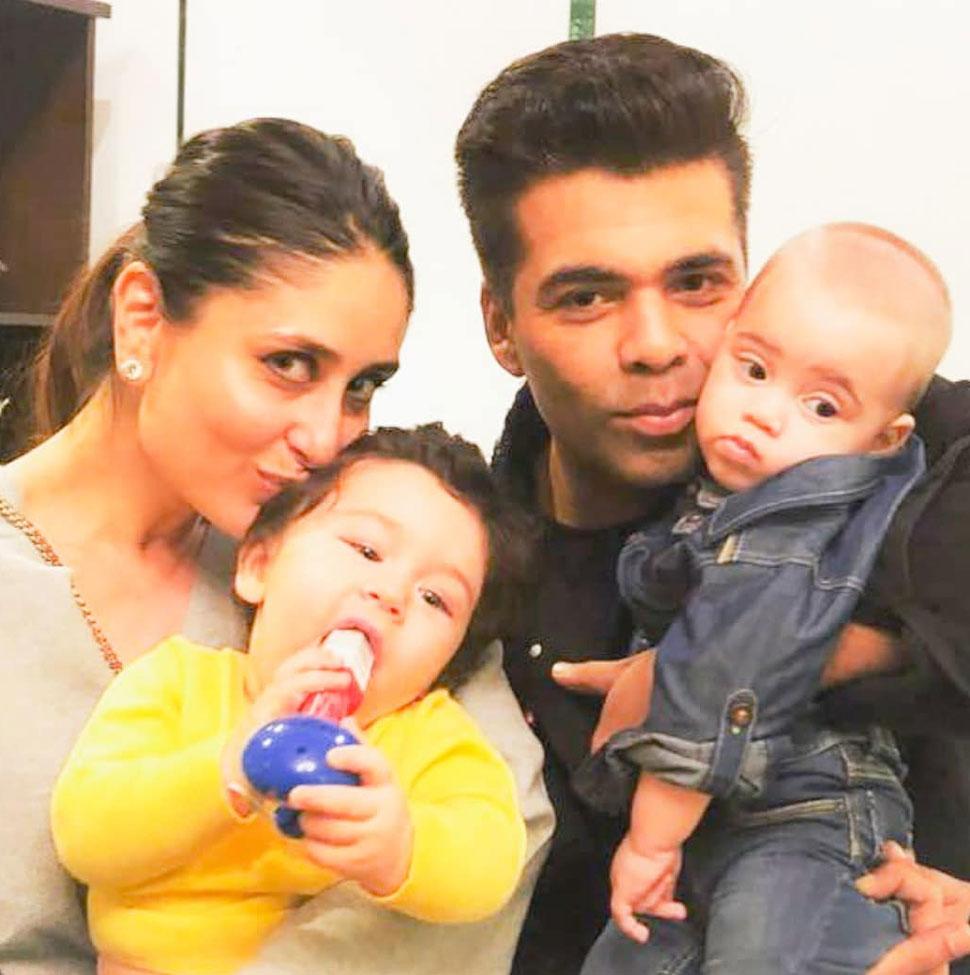 Alia Shahrukh kareena attend Karan Johar''s twins Roohi and Yash first birthday