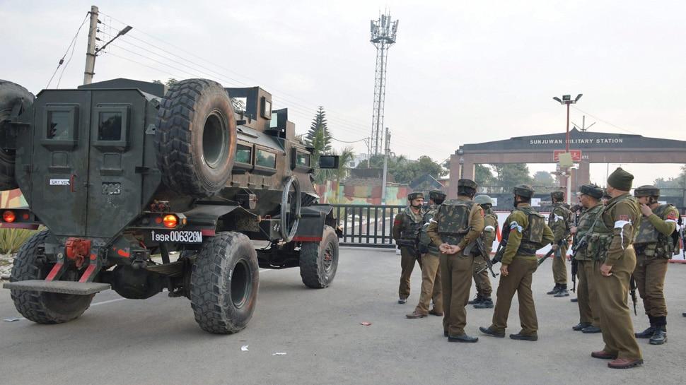 Terror attack in Sunjuwan military camp