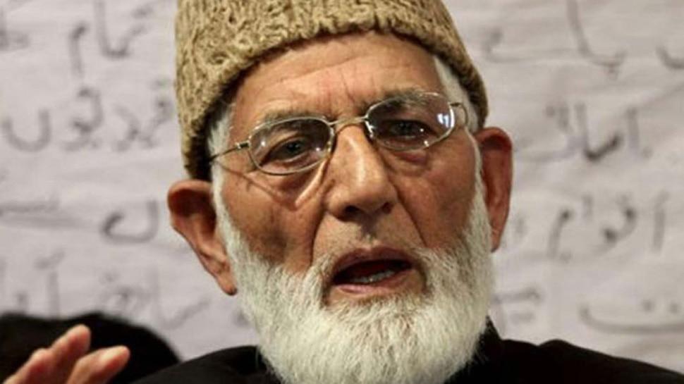सैयद अली शाह गिलानी की मांग, 'जम्मू-कश्मीर में लागू हो शराबबंदी'