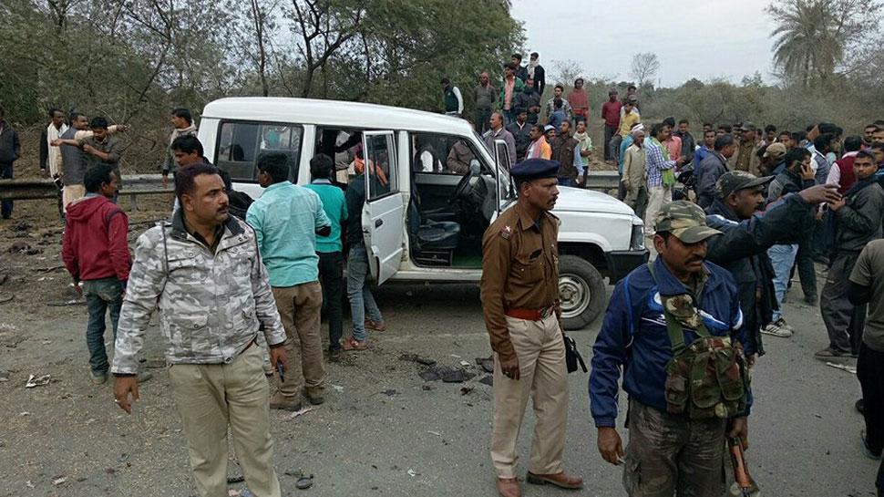 झारखंड: बम विस्फोट में कांग्रेस जिलाध्यक्ष की मौत, इलाज के दौरान बॉडीगार्ड की भी मौत