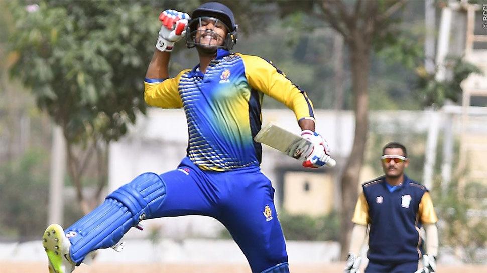 ऐसा चला मयंक अग्रवाल का बल्ला, सचिन-विराट सब छूटे पीछे | Mayank Agarwal Played tremendous innings in Vijay hazare Trophy