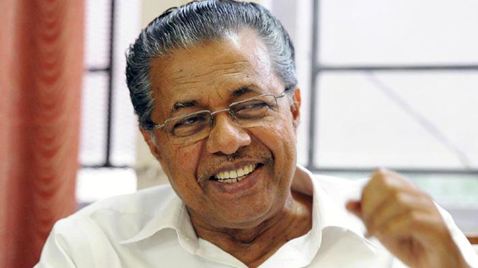 केरल के मुख्यमंत्री विजयन अस्पताल में भर्ती