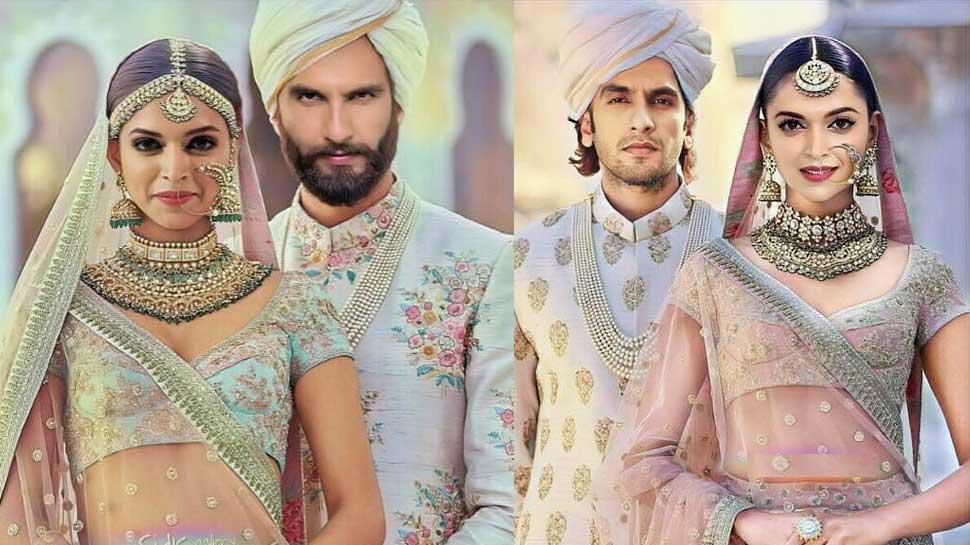Viral Photos: इस फैन ने लीक कर दिया दीपिका पादुकोण और रणवीर सिंह की शादी का Look
